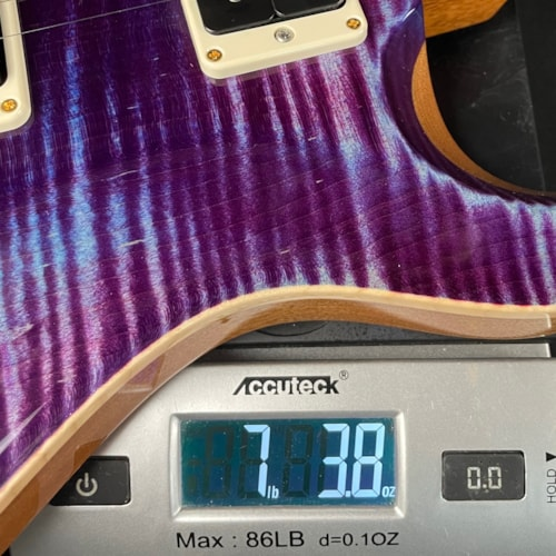 Paul Reed Smith PRS Custom 24 Pattern Thin 10-Top Violet (0320471)