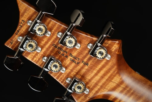 Hold - Paul Reed Smith (PRS) Eddie's Guitars Wood Library