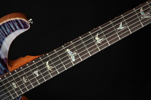 Paul Reed Smith (PRS) Eddie's Guitars Wood Library 509 - Violet/Figured Mahogany Neck
