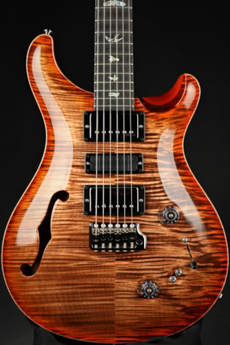Paul Reed Smith (PRS)Eddie's Guitars Wood Library Special Semi Hollow - Black Gold/Brazilian