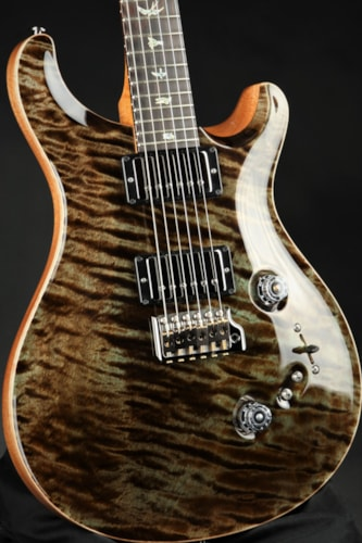 Paul Reed Smith (PRS) Eddie's Guitars Wood Library Custom 24-08 - Mash Green/Figured Mahogany Neck