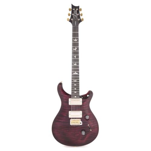 PRS Wood Library Custom 24 Artist Top Flame Angry Larry w/Figured Mahogany Neck, Ebony Fingerboard, & Pattern Thin Neck