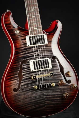 2020 Paul Reed Smith (PRS) McCarty 594 Hollowbody II - Charcoal Cherry Burst