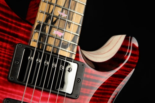 Paul Reed Smith (PRS) Private Stock #9016 Special Semi-Hollow F-Hole Swamp Ash - Blood Red Glow