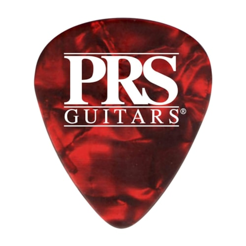 PRS Celluloid Picks Red Tortoise Thin 12-Pack