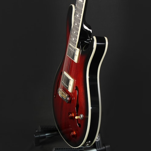 Paul Reed Smith PRS SE Hollowbody Standard Fire Red Burst (D08001)