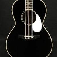 Paul Reed Smith SE P20E Parlor Acoustic-Electric with Satin Black Top