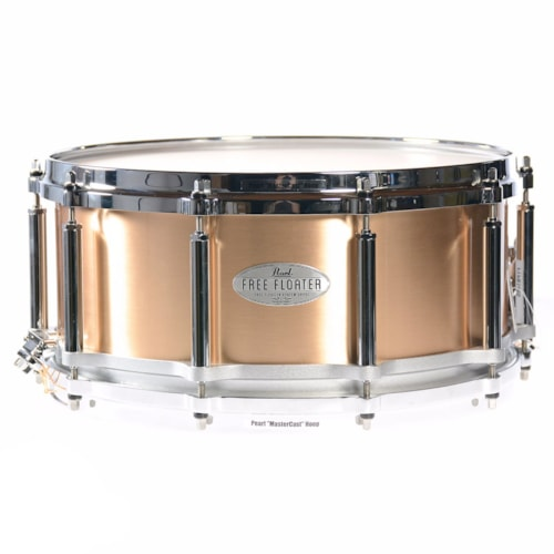 Pearl 6.5x14 1.2mm Task-Specific Free Floating Phosphor Bronze Snare Drum