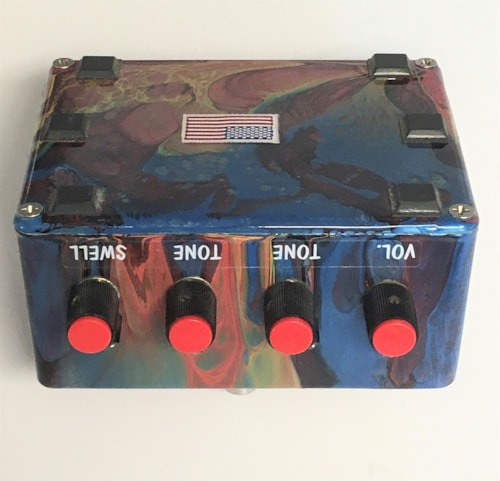 Prescription Electronics  Experience - Collectors LooK! '90's Psychedelic Swirl Box. Papers