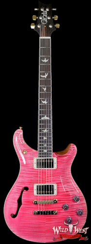 2020 Paul Reed Smith Wood Library Artist Semi-Hollow McCarty 594 Bonnie Pink