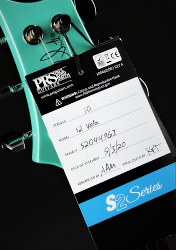 Paul Reed Smith (PRS) S2 Vela Semi Hollow - Robin's Egg Blue Pearl