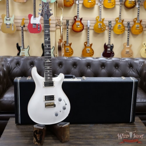 2020 Paul Reed Smith Core Model Flame Maple Top Custom 22 Piezo Antique White