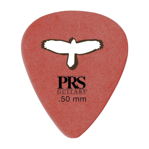 PRS Delrin Punch Picks Red 0.5mm 12-Pack