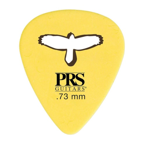 PRS Delrin Punch Picks Yellow 0.73mm 2 Pack (24) Bundle