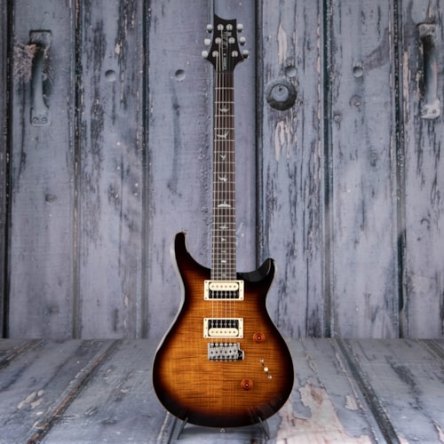 Paul Reed Smith SE Custom 24, Black Gold Burst
