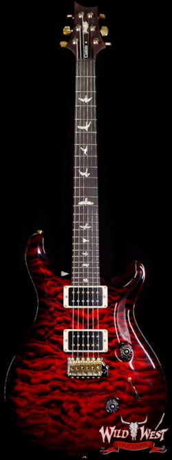 2020 Paul Reed Smith Quilt 10 Top Custom 24 with 35th Anniversary Eagle