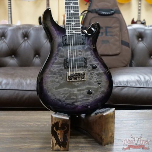 PRS SE Mark Holcomb SVN Signature 7-String Guitar Holcomb Burst (Quilted Maple Veneer)