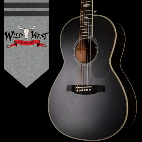 2020 Paul Reed Smith SE P20 Parlor Sized Acoustic Guitar  Charcoal