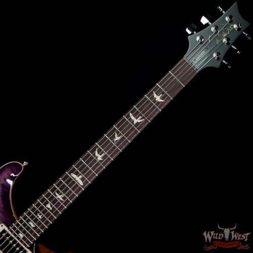 2021 Paul Reed Smith WWG Special Run CE 24 57/08 Pickups  Faded Gray Black Purple Burst