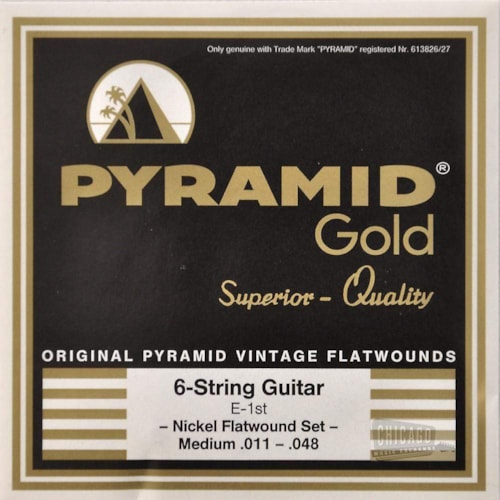 Pyramid Gold Electric Flatwound Med 11-48