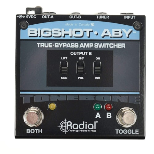 Radial Big Shot ABY Amplifier Switcher V2