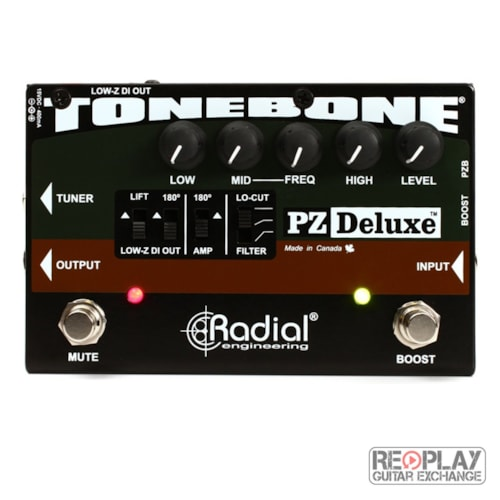 Radial PZ-Deluxe acoustic instrument preamp/DI