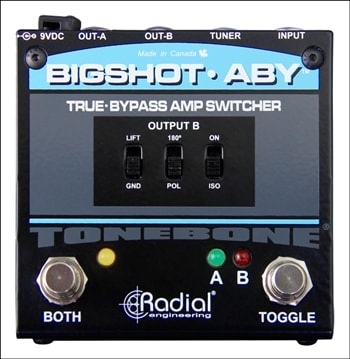Radial Radial BigShot ABY True Bypass Switcher