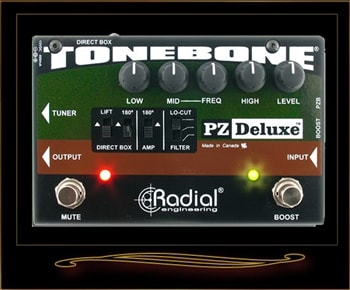 Radial Radial PZ-Deluxe Acoustic Preamp