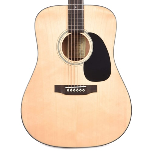 Recording King Deluxe All Solid Dreadnought Aged Adirondack Spruce/Mahogany