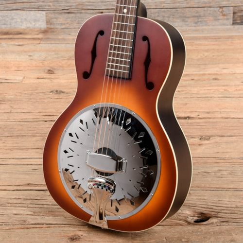 Recording King Dirty 30's Resonator Resonator Single 0 Tobacco Sunburst USED