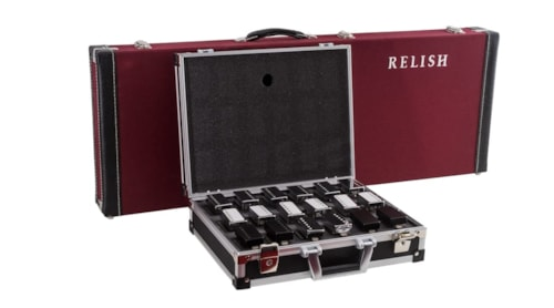 Relish RE-CASE 9 Pickup Sets Collection, Briefcase,  Finish, New, Free Shipping
