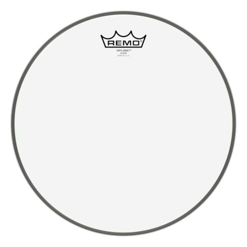 """Remo 12"""" Diplomat Clear Drumhead"""