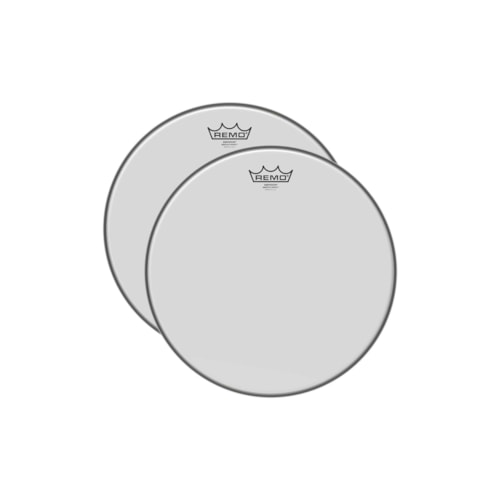 """Remo 12"""" Emperor Smooth White Drumhead (2 Pack Bundle)"""