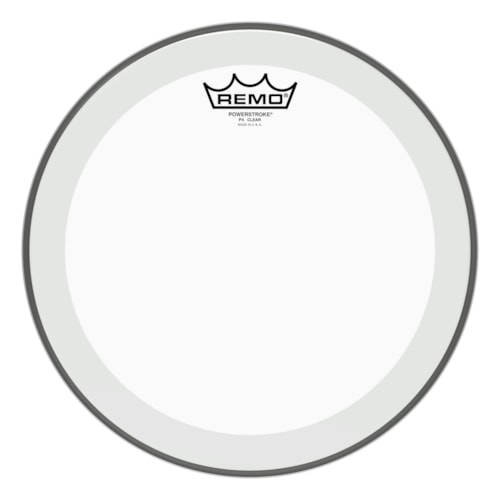 """Remo 12"""" Powerstroke P4 Clear Drumhead"""
