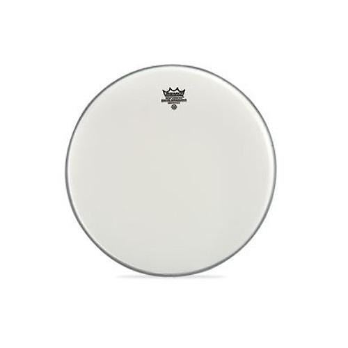"""Remo 14"""" Ambassador Coated Smooth White Drumhead"""