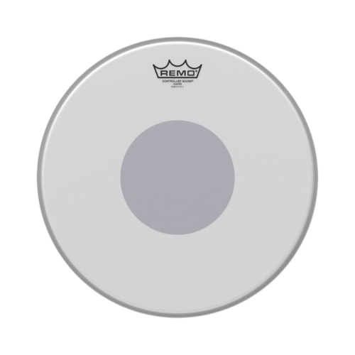 """Remo 15"""" Controlled Sound Coated Drumhead w/Bottom Black Dot"""