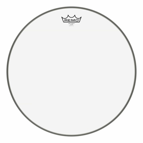 """Remo 16"""" Diplomat Clear Drumhead"""