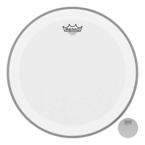 """Remo 16"""" Powerstroke P4 Coated Bass Drumhead"""