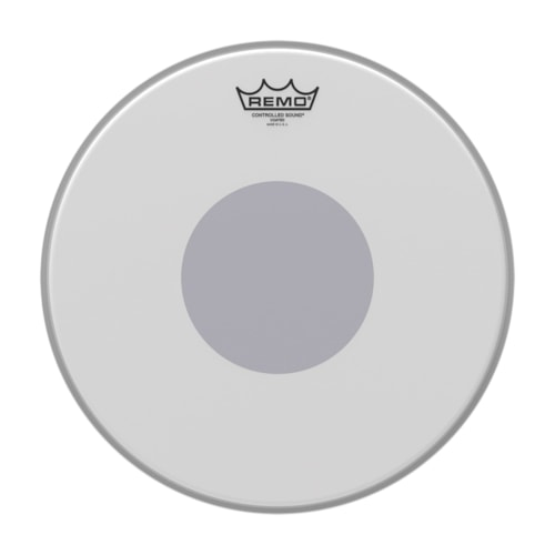 """Remo 18"""" Controlled Sound Coated Drumhead w/Bottom Black Dot"""