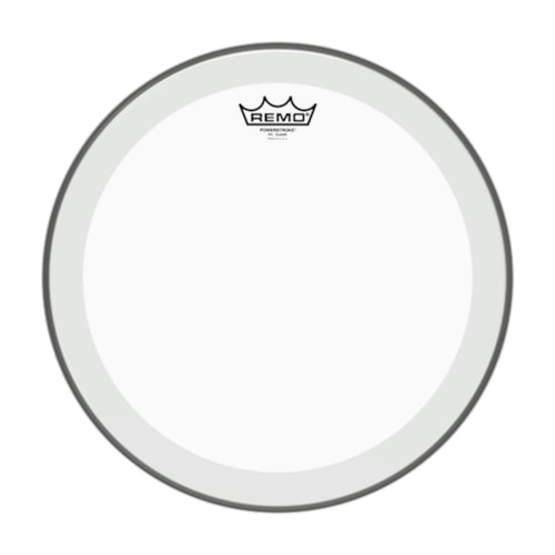 """Remo 18"""" Powerstroke P4 Clear Bass Drumhead"""