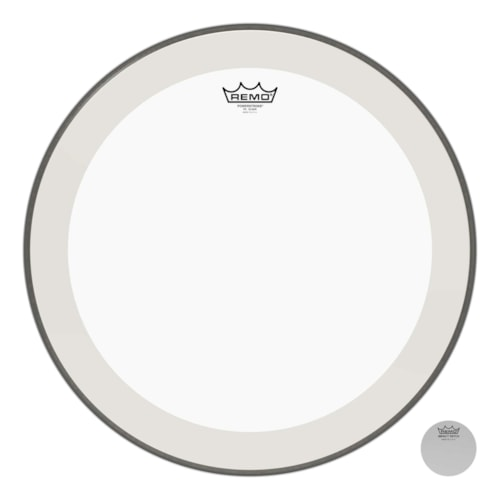 """Remo 20"""" Powerstroke P4 Clear Bass Drumhead"""