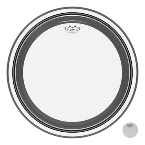 """Remo 20"""" Powerstroke Pro Clear Bass Drumhead"""