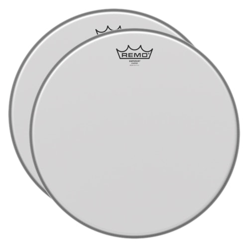 """Remo 22"""" Emperor Coated Bass Drumhead (2 Pack Bundle)"""