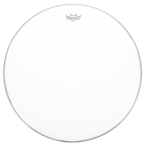 """Remo 22"""" Emperor Smooth White Bass Drumhead"""