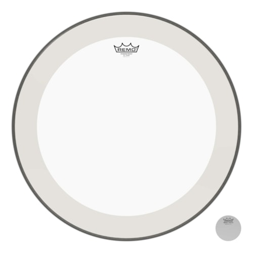 """Remo 22"""" Powerstroke P4 Clear Bass Drumhead"""