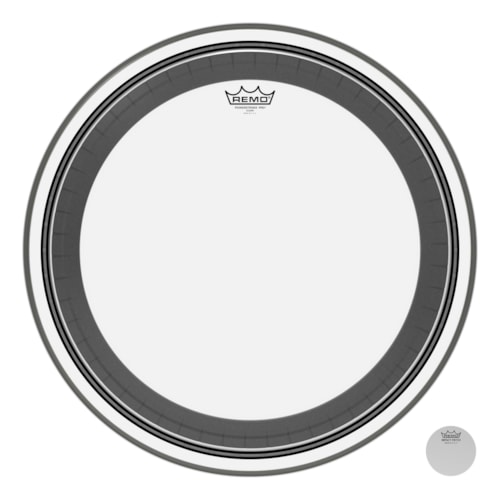 """Remo 22"""" Powerstroke Pro Clear Bass Drumhead"""