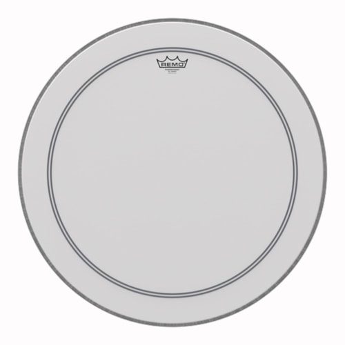 """Remo 24"""" Powerstroke P3 Coated Bass Drumhead"""