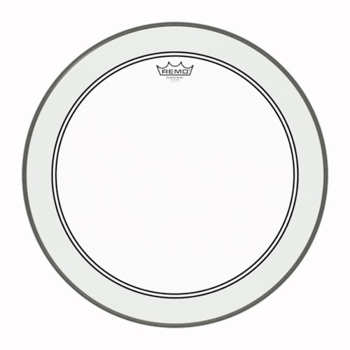 """Remo 24"""" Powerstroke P3 Clear Bass Drumhead"""