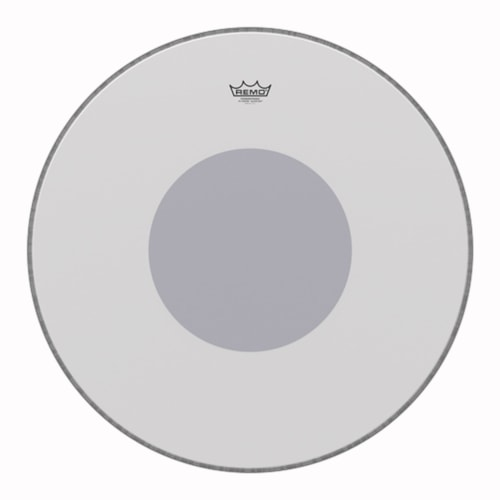 """Remo 24"""" Powerstroke P3 Coated Bass Drumhead w/Bottom Black Dot"""