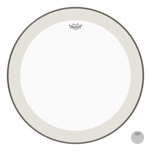 """Remo 26"""" Powerstroke P4 Clear Bass Drumhead"""